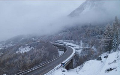 Restoration works of the Charmaix Viaduct at Modane (France)